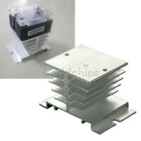 Aluminum Heat Sink for Solid State Relay SSR Small Heat Dissipation 10A-40A WC
