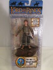 Lord of the Rings Return of the King ~ Mount Doom Sam Super Poseable Talks ~ MOC