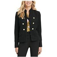 DKNY Women's Blazer Wear to Work Jacket (Black, Size 0)