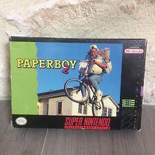 Paperboy 2 Super NES Nintendo SNES US en Boite SNSP-P2-USA NTSC Tested