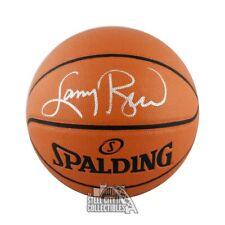Larry Bird Autographed Spalding Basketball - BAS COA