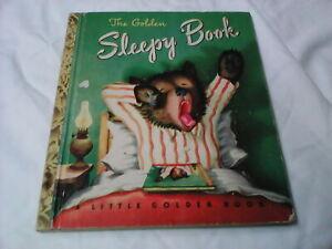 """""""The Golden Sleepy Book"""" A Little Golden Book 1948, 1st Ed."""