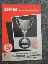 More details for bayern munich v glasgow rangers 1967 cup winners cup final