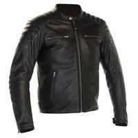 Richa Daytona 2 Motorbike Motorcycle Leather Jacket Black