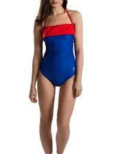 S (10) Sparkle Mode Amy Non Wired Halterneck Swimming Costume Swimsuit
