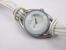 Ladies Kahuna Aliham Snow 14490 White Leather Watch - 50m