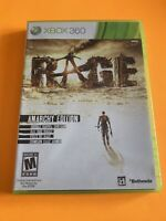 🔥 MICROSOFT XBOX 360 💯 COMPLETE WORKING GAME 🔥RAGE ANARCHY EDITION 🔥