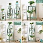 2/3/4 Tiers Flower Pot Plant Rack Shelf Ladder Display Stand Indoor Outdoor