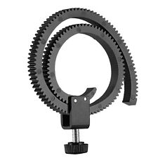 Neewer Adjustable Follow Focus Gear Ring Belt for DSLR Lenses/HDSLR Follow Focus