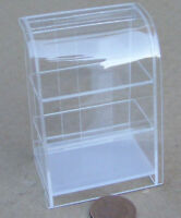 1:12 Scale Slim Acetate Counter Display Curved Top Unit Dolls House Miniature T