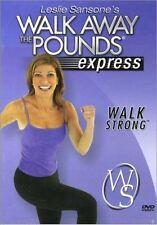 Walk Aerobics DVD - LESLIE SANSONE Walk Away The Pounds Express Strong Walk!