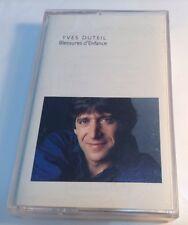 YVES DUTEIL Tape Cassette BLESSURES D' ENFANCE 1990 Audiogram Canada AD4-10-047
