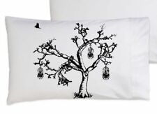 Black Bird Cage Pillowcase Set Oak Tree bedding pillowcase pillow cover set