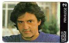Rare cinécarte UGC série acteurs du cinéma Daniel Auteuil Privilège 2