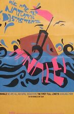 HANALEI POSTER, WE ARE ALL NATURAL DISASTERS (H4)