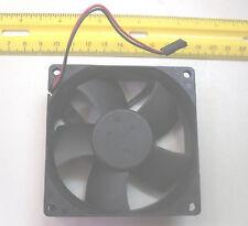 """Fan Computer 80x80x25mm 3.62x3.62x1""""/inch  24v/vdc/volts 72mm 2.8"""" holes (Qty 1)"""