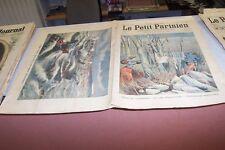 LE PETIT PARISIEN N° 882 1905 TEMPETE A BIZERTE VAPEUR ALLEMAND BERGER VILHELM