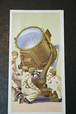 Anti Aircraft Searchlight Projector  British WW2  1930's Vintage Card # VGC