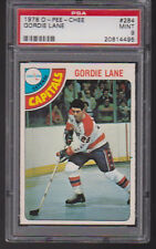 1978 - 79 OPC #284 GORDIE LANE PSA 9 MINT o-pee-chee Washington CAPITALS