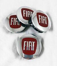 JOYSILIN 4 Pezzi 60mm Coprimozzo Coprimozzo per Centro Ruota Auto per Fiat 500 Abarth