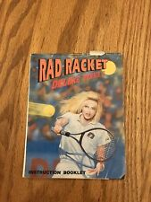 Rad Racket Nes, *Manual Only*