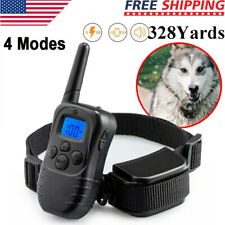 New listing Dog Shock Training Collar Rechargeable Remote Control Waterproof 328 Yards
