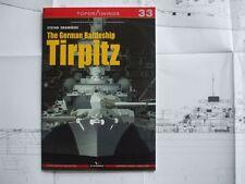 The German Battleship Tirpitz - TopDrawings, KAGERO