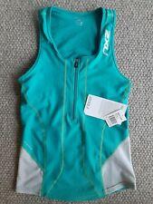 New listing Women's 2XU Long Distance Triathlon Singlet / Top, Green/Grey, Size Large, BNWT