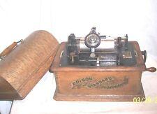 EDISON STANDARD 2 MINUTE PHONOGRAPH , ORIGINAL BANNER DECAL