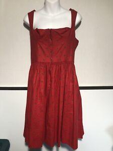 Vintage Dirndl Dress  Original Lanz Salzburg Wien Austria Oktoberfest womens 40