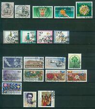 Berlin Jahrgang 1985 , gestempelt , Auswahl aus Michel Nr. 730 - 749