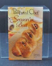 Fall/Winter 2002 Season's Best Recipe By The Pampered Chef Cookbook Book GY1
