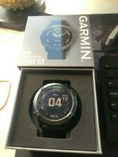 "Garmin FÄ""nix 6X Sapphire Smartwatch - Carbon Gray Dlc with Black Band"