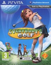 Everybody's Golf PSVita          - totalmente in italiano