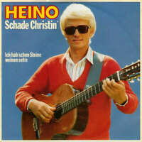 """Heino Schade Christin' 7"""" Single Vinyl Schallplatte 32650"""