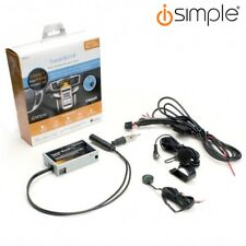 iSimple Universal Radio Bluetooth Handsfree Car Music Streaming Kit + Microphone