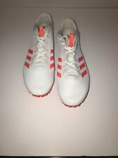 new products 9cd75 fad78 Adidas Sprintstar Mens Solar Red Cloud White Track Spikes Size 13 Free  Shipping