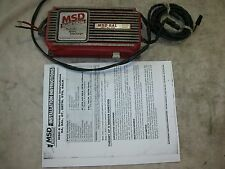 MSD Ignition Box 6AL with 8600 rpm soft rev limeter chip, tested and perfect.