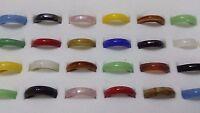 10 x Unisex munaro Lampwork Colourful Glass Rings Job lot