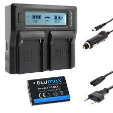 Bateria para Sony np-bx1 + dual cargador Charger para Sony np-bx1 | 65144 | 90349