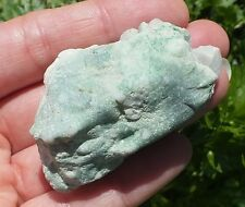 VARISCITE Stone, Raw Rough Green Mineral, Whole Natural Nodule 54g 57mm DNA/RNA
