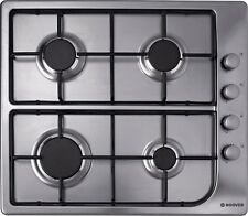 Hoover HGL64SX 60cm Gas Hob - Stainless Steel