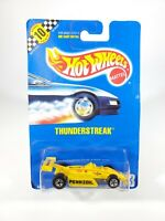 1990 Hot Wheels Speed Points Yellow Thunderstreak Pennzoil #153 - NEW w/Protecto
