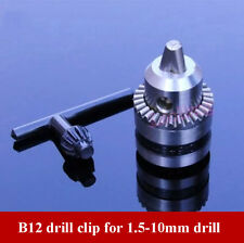 Mini Electric Drill Chuck 1.5-10mm B12 Taper Mounted Lathe Chuck For Mini Lathe