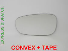 Wing Mirror Glass For PEUGEOT 308 2007-2015 Convex +TAPE Left Side G019