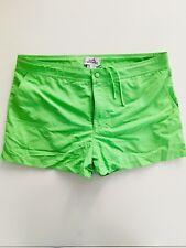 Hermes Paris Homme Shorts de bain Toile de bain en vert citron-taille XL (36 W) - entièrement neuf sans étiquette