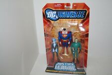 DC Universe JLU Unlimited LIVEWIRE SUPERMAN WEATHER WIZARD Figure NEW