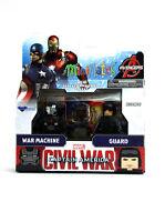 Marvel Minimates War Machine & Guard Series 66 Captain America Civil War Figures