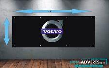 CAR VOLVO LOGO - Workshop, Garage, Showroom PVC BANNER - 4FT  x  1.5FT