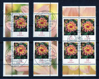 Bund Blumen 2505 gestempelt Vollstempel Eckrand oder Viererblock ESST BRD 2006